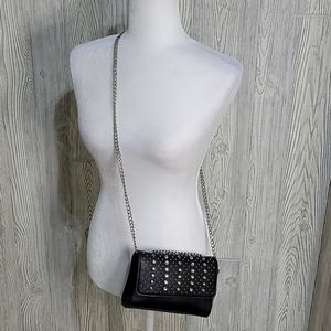 Express Black Studed Mini Bag Crossbody Purse